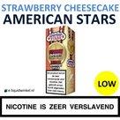 American Stars E-liquid Strawberry Cheesecake Low
