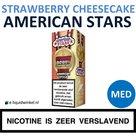 American Stars E-liquid Strawberry Cheesecake Medium