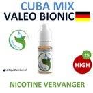 Valeo BioNic E-liquid Cuba Mix High