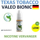 Valeo BioNic E-liquid Texas Tobacco Low