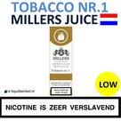 Millers Juice e-liquid Tobacco nr.1 Low