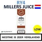 Millers Juice RY4 Tabak Low