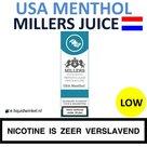 Millers Juice e-liquid USA Menthol Low