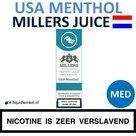 Millers Juice e-liquid USA Menthol Medium