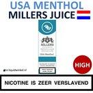 Millers Juice e-liquid USA Menthol High