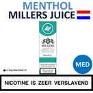 Millers Juice e-liquid Menthol Medium