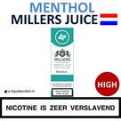 Millers Juice e-liquid Menthol High