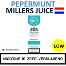Millers Juice e-liquid Pepermunt Low
