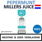 Millers Juice e-liquid Pepermunt Medium