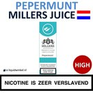 Millers Juice e-liquid Pepermunt High