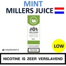 Millers Juice e-liquid Mint Low
