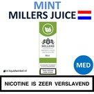 Millers Juice e-liquid Mint Medium
