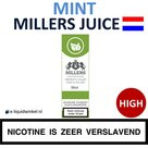 Millers Juice e-liquid Mint High