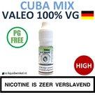 Valeo E-liquid VG Cuba Mix High
