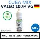 Valeo E-liquid VG Cuba Mix Medium