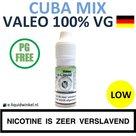 Valeo E-liquid VG Cuba Mix Low