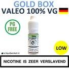 Valeo E-liquid VG Gold Box Low
