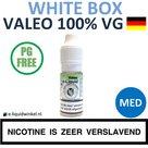Valeo E-liquid VG White Box Medium