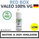 Valeo E-liquid VG Red Box Low