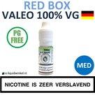 Valeo E-liquid VG Red Box Medium