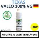 Valeo E-liquid VG Texas Tobacco Low