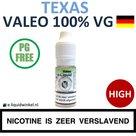 Valeo E-liquid VG Texas Tobacco High