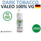 Valeo E-liquid VG Dark Tobacco Zero