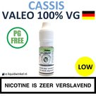 Valeo E-liquid VG Cassis Low