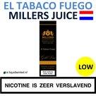 Millers Juice El Tabaco Fuego Low