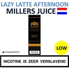 Millers Juice Gold - Lazy Latte Afternoon Low