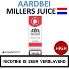 Millers Juice e-liquid Aardbei High