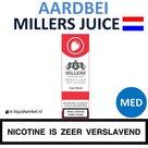 Millers Juice e-liquid Aardbei Medium