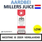Millers Juice e-liquid Aardbei Low
