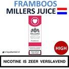 Millers Juice e-liquid Framboos High