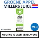 Millers Juice e-liquid Groene Appel Medium