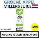 Millers Juice e-liquid Groene Appel Low