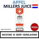Millers Juice e-liquid Appel High
