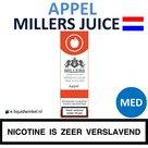 Millers Juice e-liquid Appel Medium