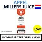 Millers Juice e-liquid Appel Low