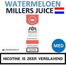 Millers Juice e-liquid Watermeloen Medium