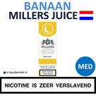 Millers Juice e-liquid Banaan Medium