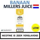 Millers Juice e-liquid Banaan Low