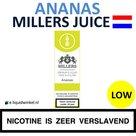Millers Juice e-liquid Ananas Low