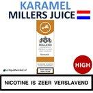 Millers Juice e-liquid Caramel High