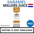 Millers Juice e-liquid Caramel Medium