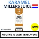 Millers Juice e-liquid Caramel Low