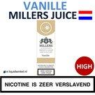 Millers Juice e-liquid Vanille High
