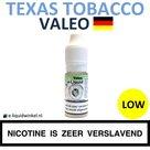 Valeo E-liquid Texas Tobacco Low