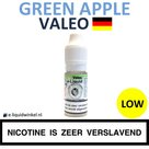 Valeo e-liquid Green Apple Low