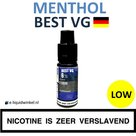 Best VG Menthol e-liquid low